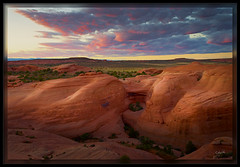 Natures Sculpture (cwaynefox) Tags: arches archesnationalpark limitededition southwest usa unitedstates fineart gallery landscape moab scenic sunset utah