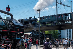 Steam train (Guy Goetzinger) Tags: bahn dampflok technik nikon d850 goetzinger steamtrain lok train steam brugg depot zug sbb switzerland historic