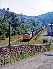 37894, Pontycymer, July 1996 (David Rostance) Tags: 37894 class37 pontycymer coal mgr southwales garwvalley bridgend