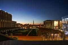 Brussels, Belgium (james.createmedia) Tags: travel brussels sunset longexposure colors colours belgium