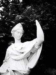 5870 - Statue (Diego Rosato) Tags: statue statua reggia realm royal palace caserta parco park giardino garden fuji x30 bianconero blackwhite rawtherapee