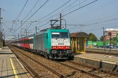 TRAXX Duffel (Albert Koch) Tags: locomotief locomotive traxx bombardier benelux nmbs ns icr hispeed fyra train sky railway railroad road catenary