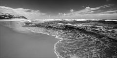 lake-tyers-beach-2447-ps-w (pw-pix) Tags: beach sand wetsand drysand dampsand dunes waves wash foam water ripples patterns swirls surf coast coastal plants clouds sky ocean bassstrait oceanbeach walking walk adaptedlens nikon142428afs nikkor1424mm128ged nikkor142428 nikon142428 bw blackandwhite monochrome sonya7 irconvertedsonya7 850nminfrared ir infrared redbluff shellybeach laketyersbeach laketyers lookingeast gippslandlakes eastgippsland gippsland victoria australia peterwilliams pwpix wwwpwpixstudio pwpixstudio