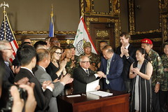 Bill Signing: Hmong Special Guerrilla Units Remembrance Day0