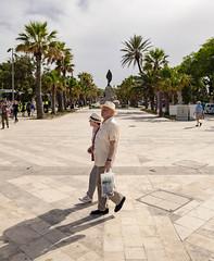 Triton Place, Valletta (james.createmedia) Tags: valletta malta sony old person couple symmetry shadow street streetphotography