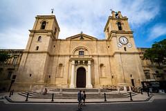 St.John's Cathedral, Valletta (james.createmedia) Tags: cathedral valletta wide culturalheritage symmetry sky summer photographer malta