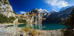 Oeschinensee (thomylant) Tags: blüemlialp doldenhorn blüemlisalphorn berneroberland fründehorn schweiz panorama berge oeschinensee ausflug natur kandersteg kantonbern