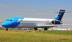 Boeing B717-2BL n° 55182 ~ EI-FBK (Aero.passion DBC-1) Tags: spotting cdg 2013 airport airlines airliner roissy dbc1 david biscove aeropassion avion aircraft aviation plane boeing b717 ~ eifbk