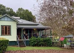 Eltham Valley Pantry (simonmgc) Tags: australia cafe coffee cottage eltham elthamvalleypantry farm farmhouse newsouthwales nsw pecan trees
