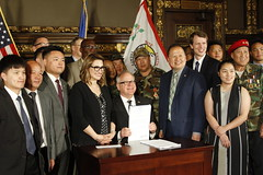Bill Signing: Hmong Special Guerrilla Units Remembrance Day