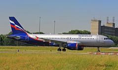 Airbus A320 ~ VQ-BAZ  Aeroflot (Aero.passion DBC-1) Tags: spotting cdg 2013 airport airlines airliner roissy dbc1 david biscove aeropassion avion aircraft aviation plane airbus a320 ~ vqbaz aeroflot
