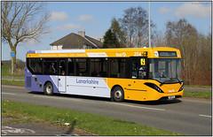 YW68 OWJ   First Lanarkshire   (G28A 9547FL14) (Gerry McL) Tags: bus first lanarkshire yw68owj 44687 alexander dennis enviro 200 mmc motherwell scotland 254
