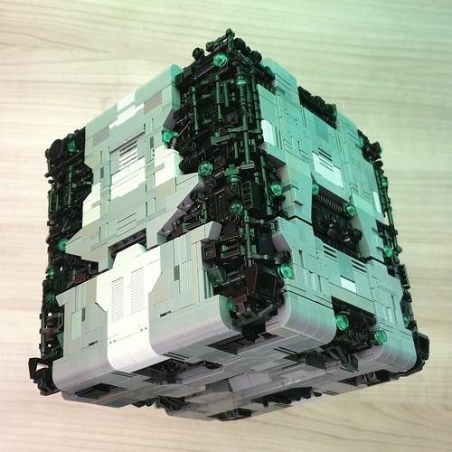 Lego Borg Tactical Cube MOC