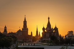 Moscow Summer (gubanov77) Tags: sunset june summer evening heat redsquare kremlin moscow russia landscape city cityscape goldenhour yellow architecture zaryadye zaryadyepark краснаяплощадь кремль зарядье moscowphotography moscowkremlin urban saintbasilscathedral