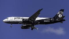N633JB_JFK_Landing_BK_Blue (MAB757200) Tags: jetblueairways a320232 n633jb bkblue brooklynnetsbasketball spreadlove aircraft airplane airlines airbus airport jetliner jfk kjfk landing runway31r brooklynskyline iloveny