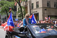 Puerto Rican Parade 2019 NYC (tai_lee2) Tags: parade festival celebrity entertainment puerto rican national traditional flag banner new york city celebrate vehicle people person building street tree