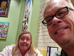 Date Lunch (heytampa) Tags: tibbys restaurant cheryl fitzpatrick hey david davidhey