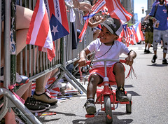 Puerto Rican Parade 2019 NYC (tai_lee2) Tags: parade celebrate national celebration puerto rican new york city people person flag flags banner signage street road toy vehicle tricycle sing music dance