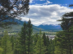 Beautiful British Columbia (Mr. Happy Face - Peace :)) Tags: mountains art2019 snowcaps trees valley scenery resort fairmount sky clouds sun mrjeff cans2s britishcolumbia kootenay inveremere landscape spring hiking
