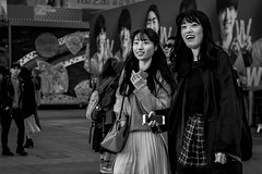 Tokyo (burnt dirt) Tags: asian japan tokyo shibuya station streetphotography documentary candid portrait fujifilm xt1 bw blackandwhite laugh smile cute sexy latina young girl woman japanese korean thai dress skirt shorts jeans jacket leather pants boots heels stilettos bra stockings tights yogapants leggings couple lovers friends longhair shorthair ponytail cellphone glasses sunglasses blonde brunette redhead tattoo model train bus busstation metro city town downtown sidewalk pretty beautiful selfie fashion pregnant sweater people person costume cosplay boobs stphotographia