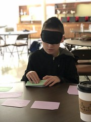 "BELL student reading Braille flash cards • <a style=""font-size:0.8em;"" href=""http://www.flickr.com/photos/29389111@N07/48046464116/"" target=""_blank"">View on Flickr</a>"