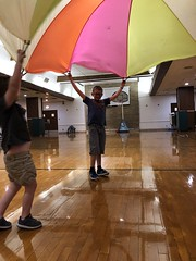 "BELL students playing with large parachute • <a style=""font-size:0.8em;"" href=""http://www.flickr.com/photos/29389111@N07/48046464341/"" target=""_blank"">View on Flickr</a>"