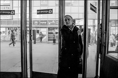 DRD160405_0339 (dmitryzhkov) Tags: urban outdoor life human social public stranger photojournalism candid street dmitryryzhkov moscow russia streetphotography people bw blackandwhite monochrome lowlight metro subway underground passenger night nightphotography transport