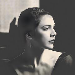 Daniela 19 (Artypixall) Tags: cuba havana ballerina youngwoman posing portrait interior mansion blackandwhite
