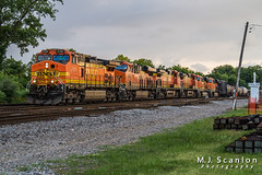 BNSF 4152 | GE C44-9W | BNSF Thayer South Subdivision (M.J. Scanlon) Tags: 7d bnsf4152 bnsfhtoamem bnsfthayersouthsubdivision business c449w canon cargo commerce digital eos engine freight ge htoamem horsepower landscape locomotive logistics mmemmem mmemmem108a memphis merchandise mojo move outdoor rail railfan railfanning railroad railroader railway scanlon tennessee track train trains transport transportation ©mjscanlon ©mjscanlonphotography