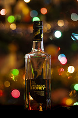 American Honey (Explore 6/12/19) (Tom Herlyck) Tags: america a7rii beautiful christmas americanhoney wildturkey whisky lights colorful product closeup bourbon explore