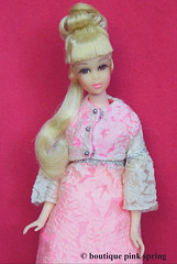 VINTAGE MOD FRANCIE WITH GROWIN PRETTY HAIR w/ ALTOGETHER ELEGANT OUTFIT (laika*2008) Tags: vintage mod francie with growin pretty hair w altogether elegant outfit mattel fashiondoll japan 1970s