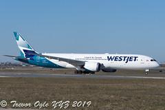 DSC_5183Pwm (T.O. Images) Tags: cgurp westjet boeing 787 787900 dreamliner toronto pearson yyz yyc calgary
