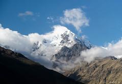 Snow Capped Peak (swmartz) Tags: blue nikon nature peru outdoors mountain andes june 2019