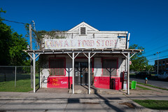 Comal Food Store - what next? (-Dons) Tags: austin comalfoodstore texas unitedstates tx usa comalstreet old store building