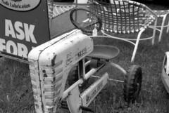 pedal tractor (bergytone) Tags: film bw olympus om2n om kentmere 100 xtol