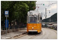 Tram Budapest - 2019-15 (olherfoto) Tags: tram tramcar tramway strasenbahn villamos budapest bkv ganz ungarn hungary