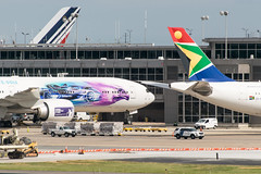 19-2519 (George Hamlin) Tags: virginia chantilly washington dulles international airport iad air france saudia special paint scheme south african airways airlines aircraft airplanes airliners airbus a380 boeing 777300er a330 sky tail terminal building photodecor george hamlin photography