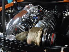1988 Ford Mustang (splattergraphics) Tags: 1988 ford mustang engine custom turbo prostreet carshow unitythundercarclub dcnationalguardarmory washingtondc