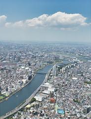 Tokyo from Skytree (Matthew P Sharp) Tags: tokyo skytree tall city cityscape