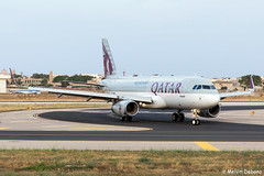 Qatar Airways Airbus A320-232  |  A7-AHW  |  LMML (Melvin Debono) Tags: qatar airways airbus a320232 | a7ahw lmml melvin debono spotting canon eos 5d mark iv 24105mm plane planes airport airplane aircraft aviation malta mla spotters spotter qr381