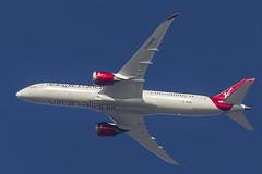 """Virgin Atlantic Airways Boeing 787-9 Dreamliner """"Mystery Girl"""" G-VWHO (pointnshoot) Tags: canonef600mmf4lisusm bridgesideshoppingcenter virginatlanticairways boeing787 b789 dreamliner mysterygirl gvwho"""