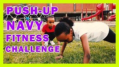 PUSH-UP NAVY FITNESS CHALLENGE | ADAN SISTERS (adansisters) Tags: pushup navy fitness challenge | adan sisters