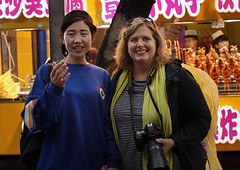 One of many locals who asked for a photo with Kristi (professor126) Tags: travelphotography xian china asia phaseone iq4150 captureone schneiderkreuznach