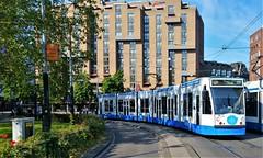 Selfie (Peter ( phonepics only) Eijkman) Tags: amsterdam city combino gvb tram transport trams tramtracks trolley rail rails strassenbahn streetcars netherlands nederland nederlandse noordholland holland