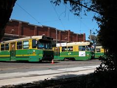 299  and Z72 Preston Work shops (Dermis50) Tags: aclass trams melbourne victorria australia a 299 z 72 preston workshops