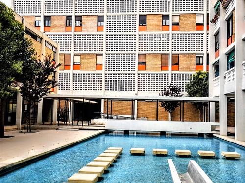 Cooperativa de viviendas Santa María Micaela, Valencia. 1958|1961. Santiago Artal Ríos.