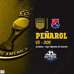 PeñarolvsDim (DWeezx) Tags: peñarol clubatleticopeñarol amistoso eeuu pretemporada dim diseñografico diseño design uruguay