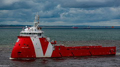 VOS Pace Arriving Aberdeen Harbour 11/06/2019