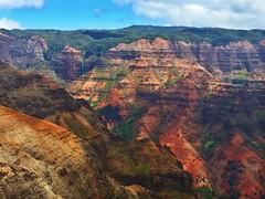Waimea Canyon (Tianna Chantal) Tags: kauai waimea waimeacanyon layers geology time red rock nature landscape hawaii outdoors sky