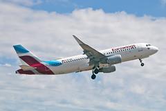 OE-IQB Airbus A.320-214SL Eurowings Europe PMI 28-05-19 (PlanecrazyUK) Tags: lepa sonsantjoanairport aeroportdesonsantjoan palmademallorcaairport oeiqb airbusa320214sl eurowingseurope pmi 280519